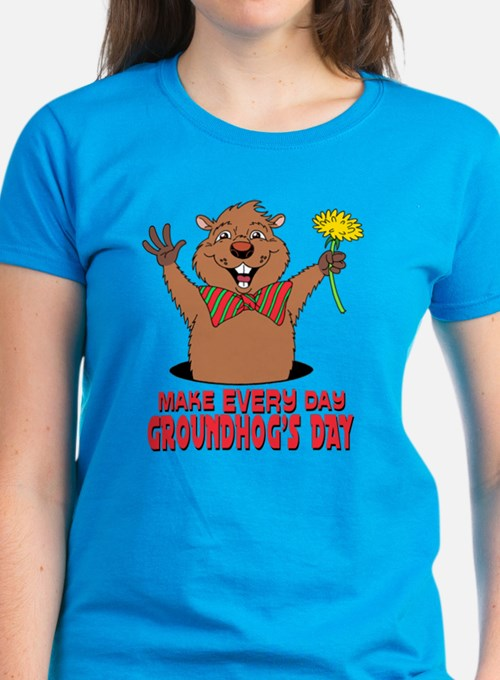Cartoon Groundhog Tee