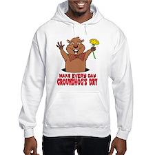 Cartoon Groundhog Hoodie