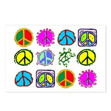 PEACE SYMBOLS Postcards (Package of 8)