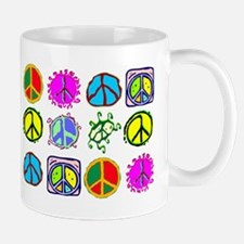 PEACE SYMBOLS Mug