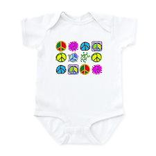 PEACE SYMBOLS Infant Bodysuit