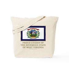 West Virginia Proud Citizen Tote Bag