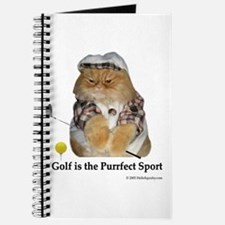 Golf is Purrfect Journal