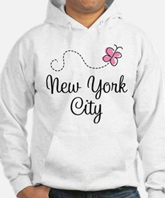 New York City Butterfly Hoodie