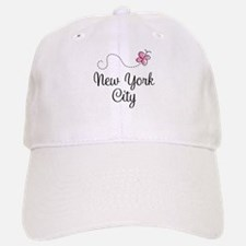 New York City Butterfly Baseball Baseball Cap