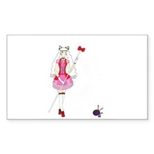 Hello Kitty Rectangle Decal