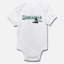 mountaineer in training Body Suit