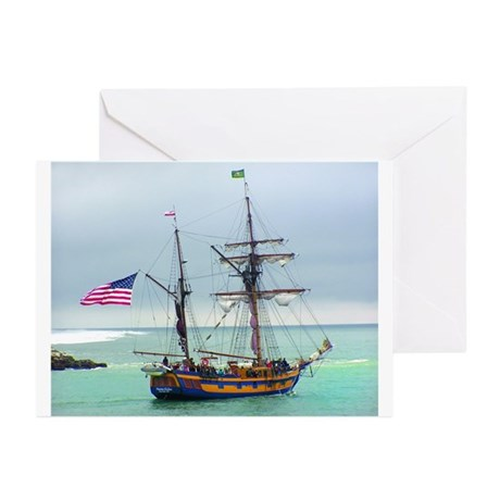 Tall Ships Greeting Cards (Pk of 20)