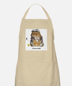 I Love Golf BBQ Apron