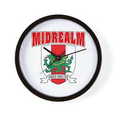 Midrealm Collegiate Wall Clock