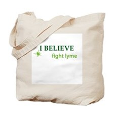 I Believe Tote Bag