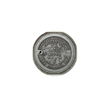 Water Meter Lid Mini Button