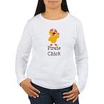 Pirate Chick Women's Long Sleeve T-Shirt