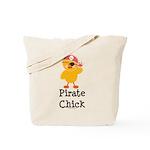 Pirate Chick Tote Bag