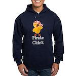 Pirate Chick Hoodie (dark)