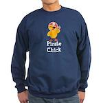Pirate Chick Sweatshirt (dark)