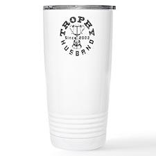 Trophy Husband Since 2002 Travel Mug