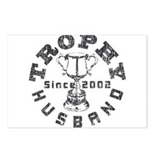 Trophy Husband Since 2002 Postcards (Package of 8)