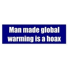 Man made global warming is a hoax