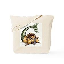 Macho Knitting Tote Bag