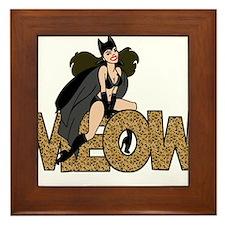 Unique Catwoman Framed Tile