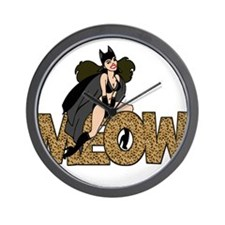 Unique Catwoman Wall Clock