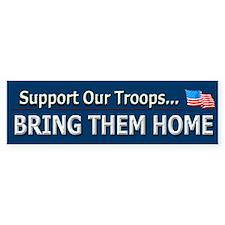 Bring Troops Home - Bumper Bumper Sticker