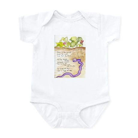 Earl the Worm Infant Bodysuit