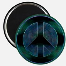 Peace Sign Noir Magnet