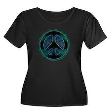 Peace Sign Noir T
