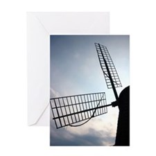 Cute Windmill Greeting Card
