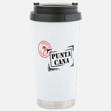 Punta Cana Passport Stamp Travel Mug