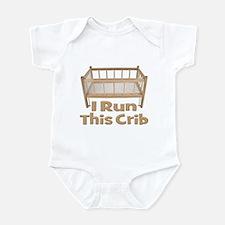 I Run This Crib Infant Bodysuit