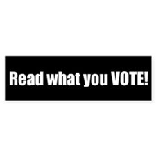Read what you VOTE!
