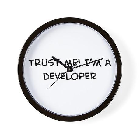 Trust Me: Developer Wall Clock
