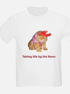 Life by Horns Kids T-Shirt