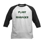 Plant Manager Kids Baseball Jersey