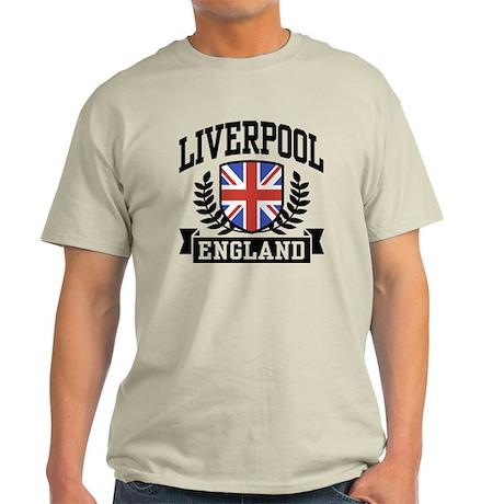 Liverpool England Light T-Shirt