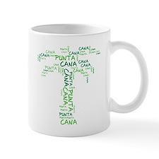 Word Up Green Punta Cana Palm Tree Mug