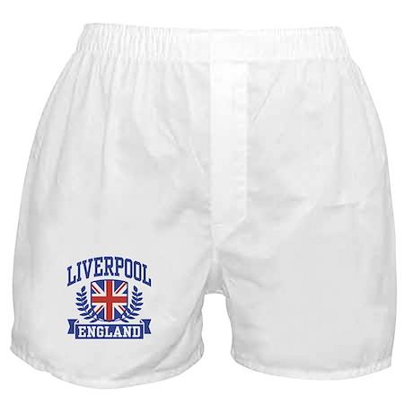 Liverpool England Boxer Shorts