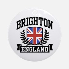 Brighton England Ornament (Round)