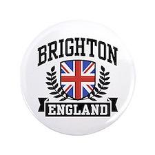 """Brighton England 3.5"""" Button"""