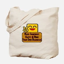 Mind Your Business Tote Bag