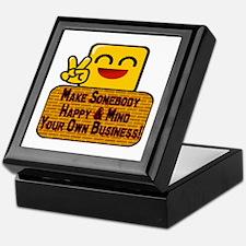 Mind Your Business Keepsake Box