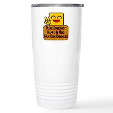 Mind Your Business Travel Mug