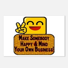 Mind Your Business Postcards (Package of 8)