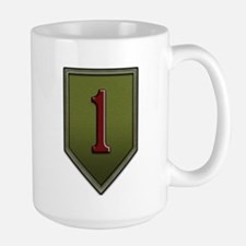 Big Red One Large Mug Mugs