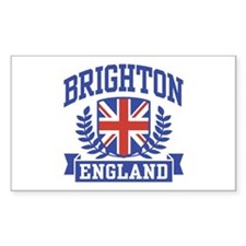 Brighton England Rectangle Decal