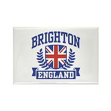Brighton England Rectangle Magnet