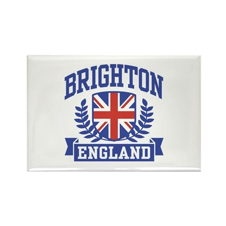 Brighton England Rectangle Magnet
